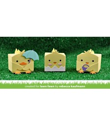 Lawn Fawn tiny gift box chick and duck add-on
