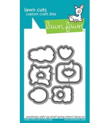 Lawn Fawn Say What? Spring Critters cuts LF2229