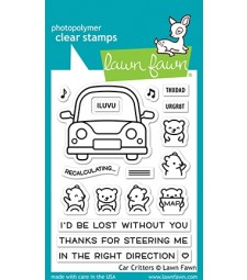 Lawn Fawn Car Critters