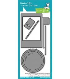 Lawn Fawn magic iris camera pull-tab add-on LF2345