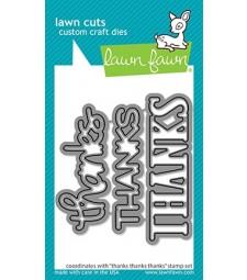 Lawn Fawn thanks thanks thanks - lawn cuts LF2406
