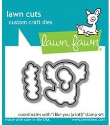 Lawn Fawn I Like You (A Lotl) Cuts LF2465