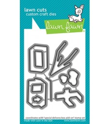 Lawn Fawn Special Delivery Box Add-on Dies LF2469