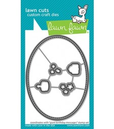 Lawn Fawn giant birthday messages - lawn cuts LF2600