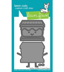 Lawn Fawn smiley s'more die LF2609