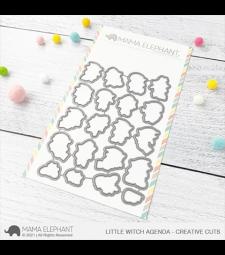 Mama Elephant Little Witch Agenda - Creative Cuts