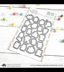 Mama Elephant Little Panda Agenda Creative Cuts