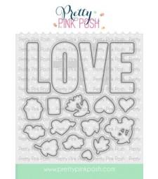 Pretty Pink Posh Love Coordinating  Set