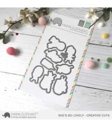 SALE - Mama Elephant She's So Lovely Cuts