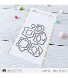 Mama Elephant Lucky Cat - Creative Cuts