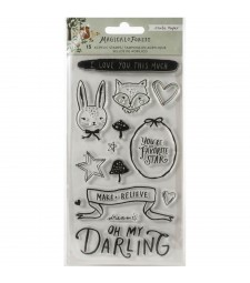 Crate Paper Magical Forest Clear Stamp Set