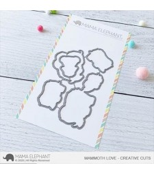 Mama Elephants Mammoth Love - Creative Cuts