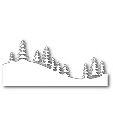 Fresh Pine Curved Border craft die (99503)