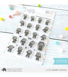 Mama Elephant LITTLE MUMMY AGENDA Clear Stamps