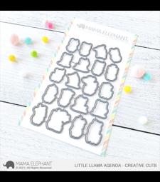 Mama Elephant Little Llama Agenda - Creative Cuts