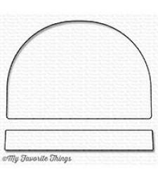 My Favorite Things Snow Globe die MFT-1193