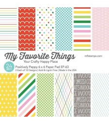 My Favorite Things - Positively Peppy Paper Pack 6x6
