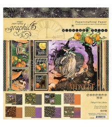 Graphic 45 Midnight Tales Paper Pad