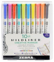 NEW COLORS - Mildliner Double-Ended Highlighter Sets
