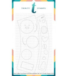 Trinity Stamps Mini Coffee Cup Sleeve and Decor Die Set