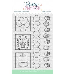 Pretty Pink Posh Party Days stamp set