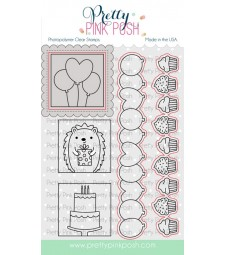 Pretty Pink Posh Party Days coordinating die