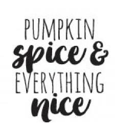 5721d - pumpkin spice rubber stamp