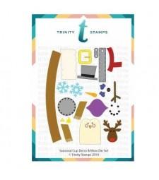Trinity Stamps Seasonal (mini) Cup Decor & More Die Set