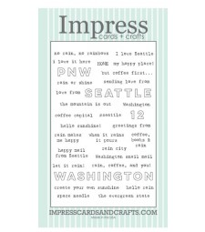 Impress Washington Sayings Clear Stamp Set