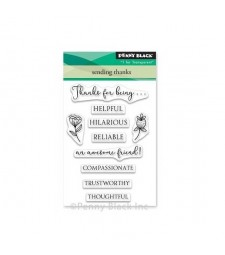 Penny Black Sending Thanks Clear Stamps