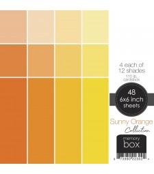 Sunny Orange 6x6 pack
