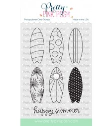 Pretty Pink Posh Summer Sufboards Stamp Set