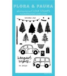 Flora and Fauna Tinsel Tree Farm Set  20344