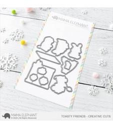 Mama Elephant Toasty Friends - Creative Cuts