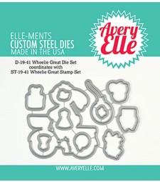 Avery Elle Die: Wheelie Great Elle-ments