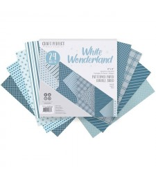 White Wonderland 6x6 Patterned Paper