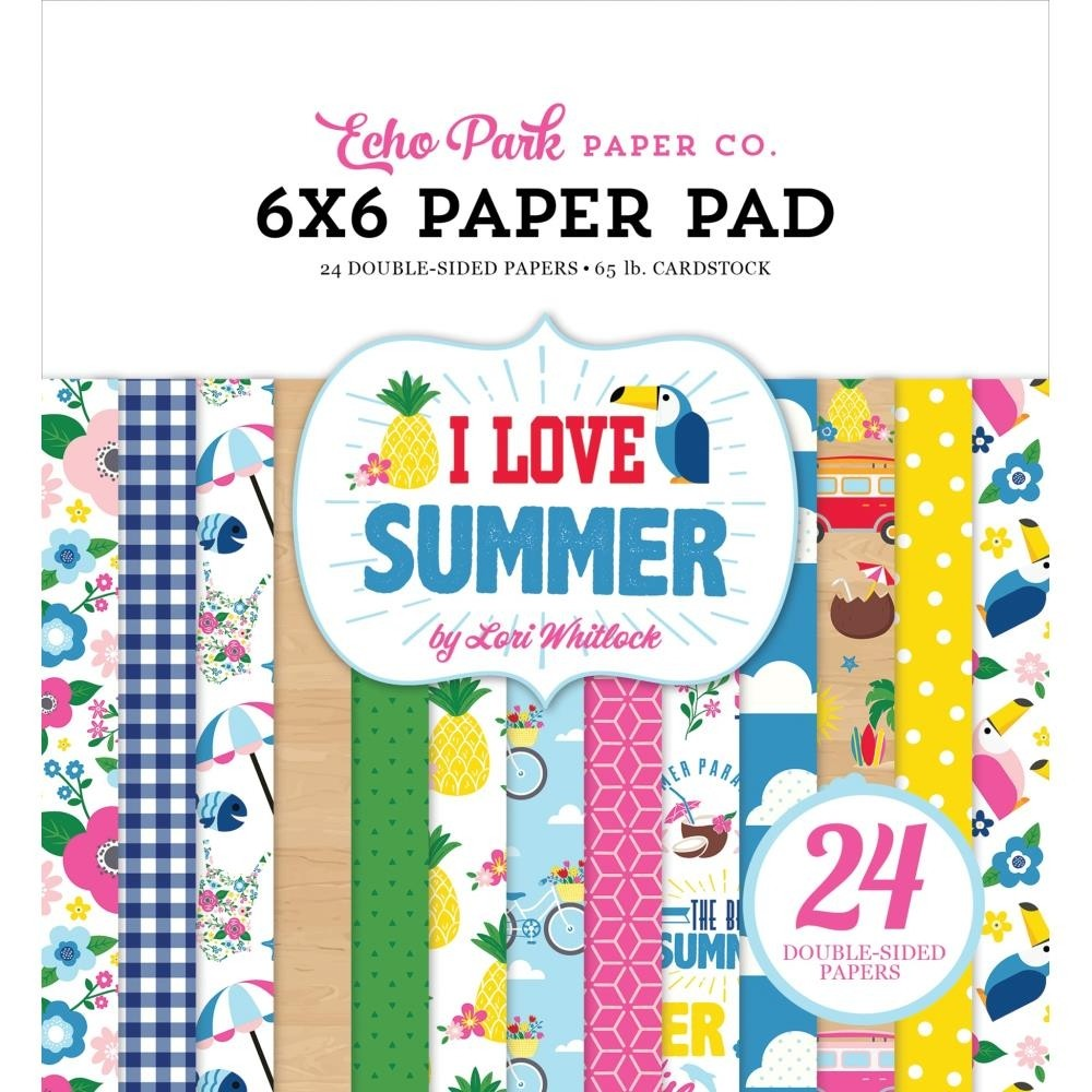 Echo Park I love Summer Paper Pack