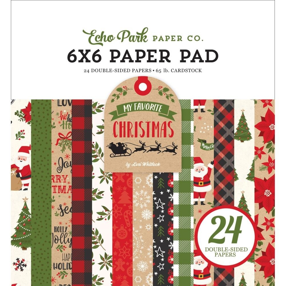 Echo Park Double-Sided Paper Pad My Favorite Christmas
