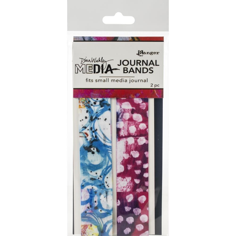 Dina Wakley Media Printed Journal Bands Small - MDA66286