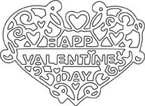 Valentine Heart Die (10074)