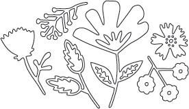 Flower Blossom Die Set 1 (10150)