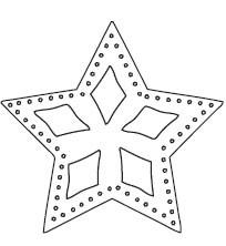Star Ornament Die (10179)