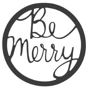 Savvy Be Merry Circle Die (10207)