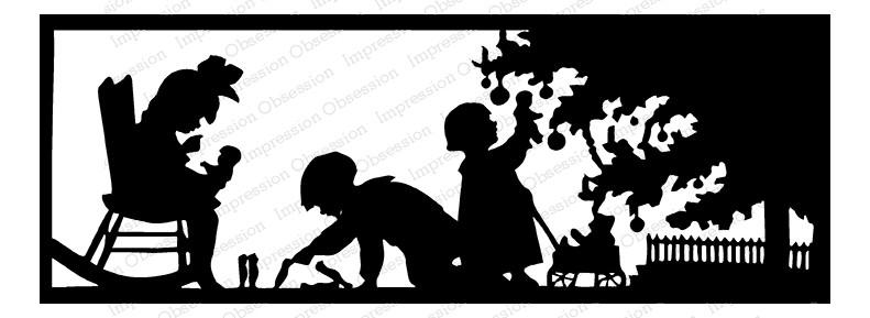 Christmas Silhouette ioG13832