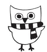 Owl with Scarf (1394e)