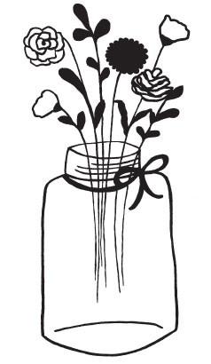 Floral Jar (1404h)