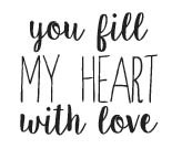 You fill my heart (1532d)