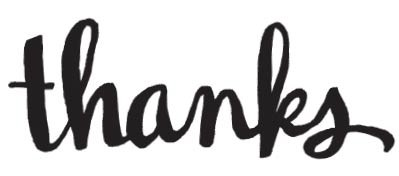 Thanks (1546h)
