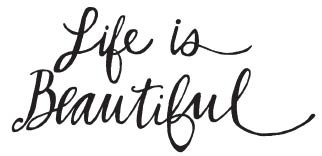 Savvy Life is Beautiful Stamp (1580g)