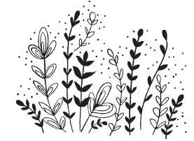 Savvy Wildflower Cluster Stamp (1582g)